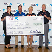 TQL's Military Month supporting USO and DAV