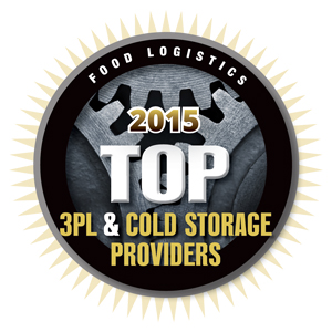 Food Logistics 2015 Top 3PL and Cold Storage Providers