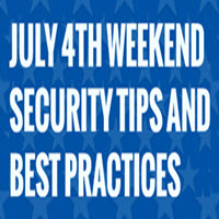 Prevent cargo theft over the 4th of July holiday.