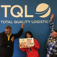 B105 Rounds Up High Fives In TQL Country