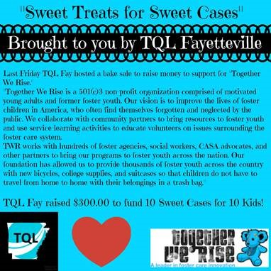 Sweet Treats for Sweet Cases Brought to you by TQL Fayetteville